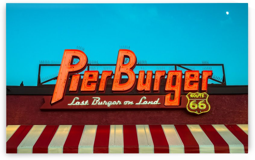 Pier Burger Route 66 by Orada J