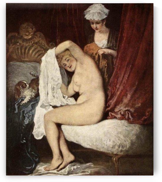 Nude woman by Bartolome Esteban Murillo