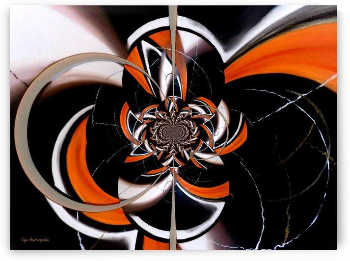 Dazzling Vector Orange by Faye Anastasopoulou