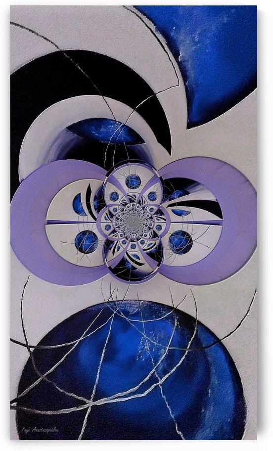 Cosmic Kaleidoscope Sapphire by Faye Anastasopoulou