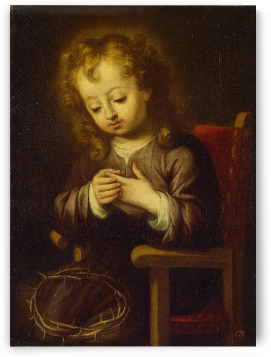 Young Christ by Bartolome Esteban Murillo