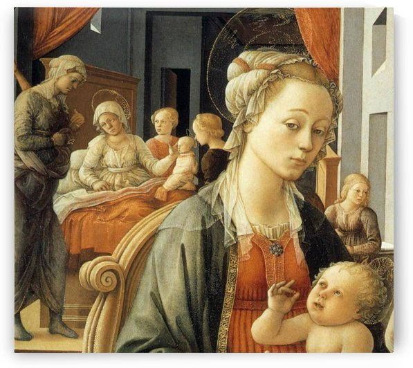 Scene for the child by Fra Filippo Lippi