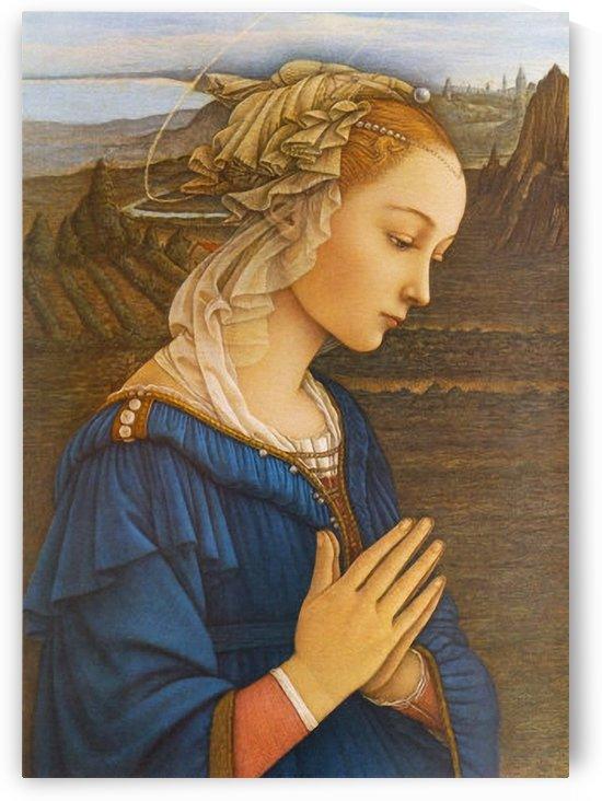 Vergine de la roca by Fra Filippo Lippi