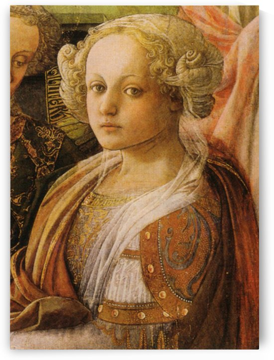 The queen by Fra Filippo Lippi
