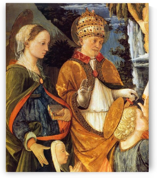 The king by Fra Filippo Lippi