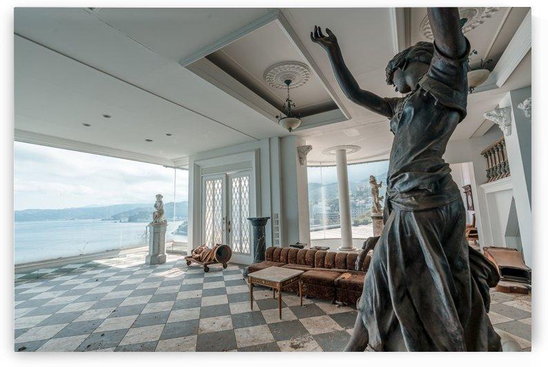Abandoned Billionaires Mansion by Steve Ronin
