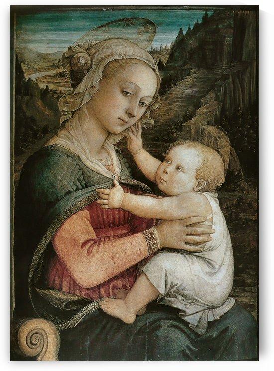Vierge l'enfant by Fra Filippo Lippi