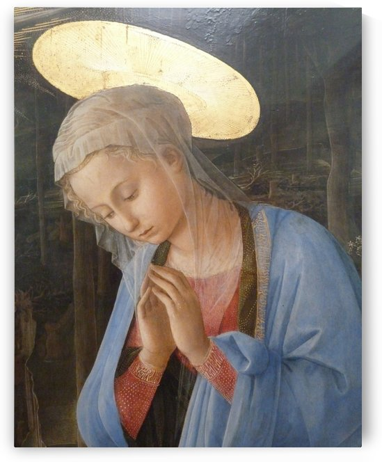 The holy virgin by Fra Filippo Lippi
