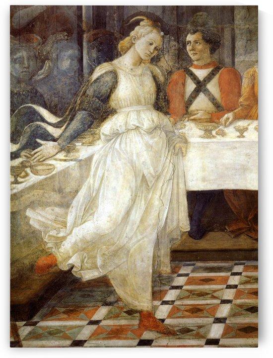The dancer by Fra Filippo Lippi