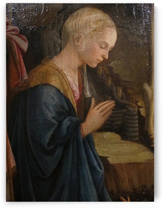 The holy virgin praying by Fra Filippo Lippi