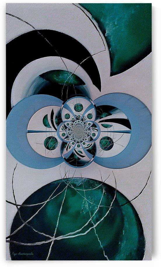 Cosmic Kaleidoscope Jade by Faye Anastasopoulou