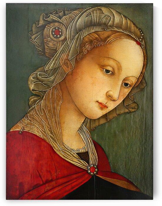 A lady by Fra Filippo Lippi