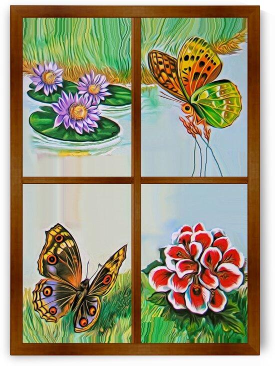 Window to world of nature 6 by Radiy