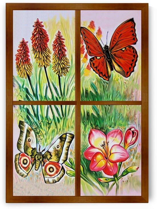 Window to world of nature 5 by Radiy