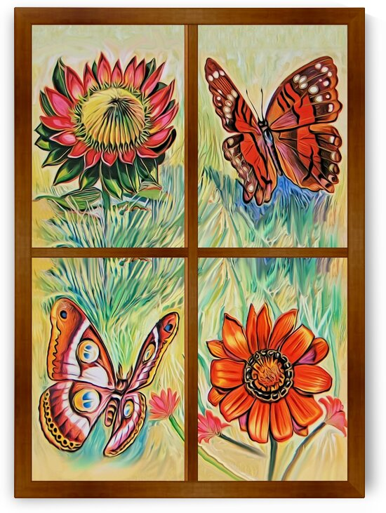 Window to world of nature 3 by Radiy