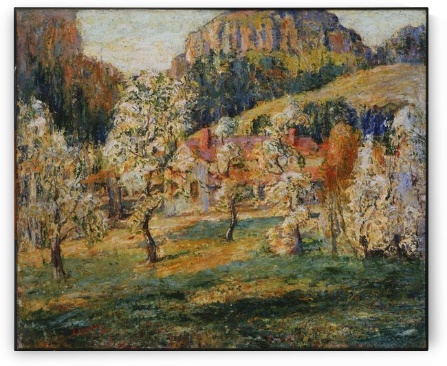 May in the mountins by Ernest Lawson
