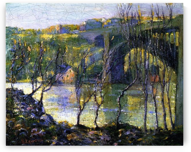 Bridge Harlem by Ernest Lawson