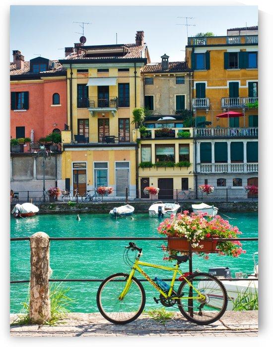 Bicycle at Peschiera del Garda by Pixelme ca