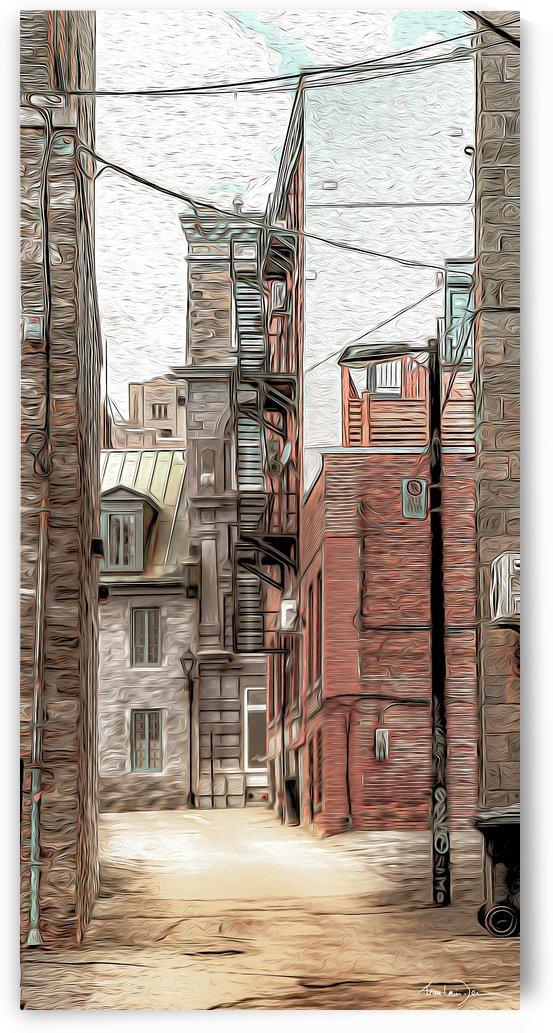 Rue St-Éloi Montréal by Jean-Louis Desrosiers