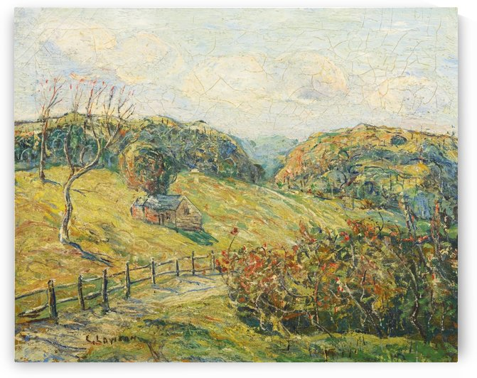 Summer Landscape by Ernest Lawson