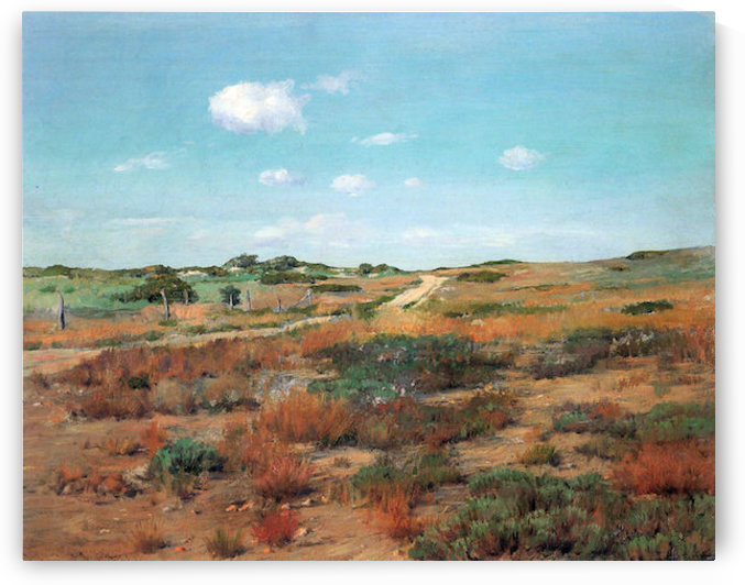 Shinnecock Hills by William Merritt Chase by William Merritt Chase