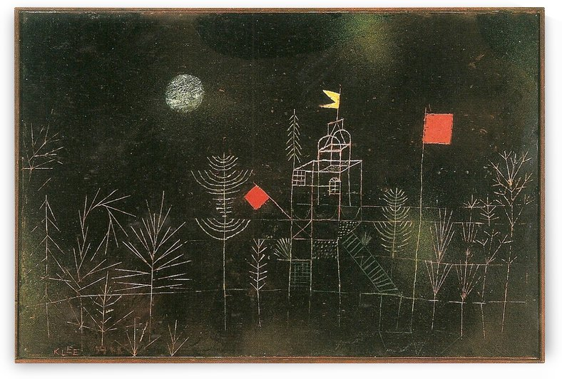Pavilion by Paul Klee