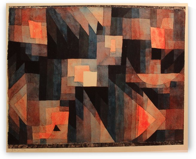 Gradation Red by Paul Klee