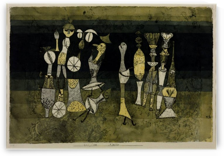 Comedy by Paul Klee