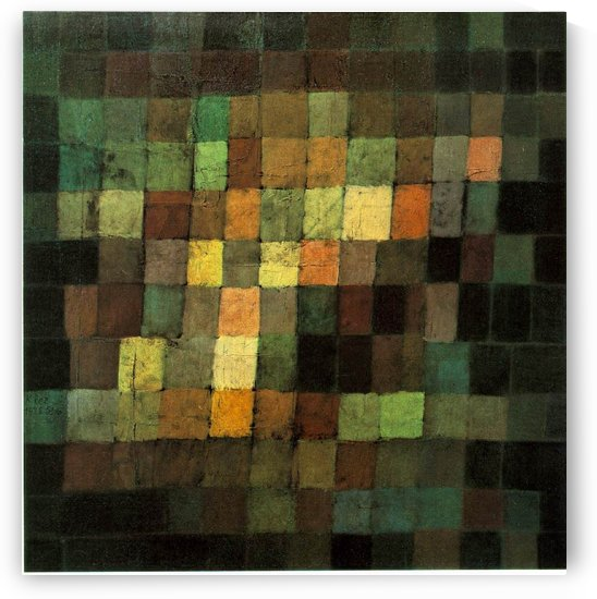 Ancient Sound by Paul Klee