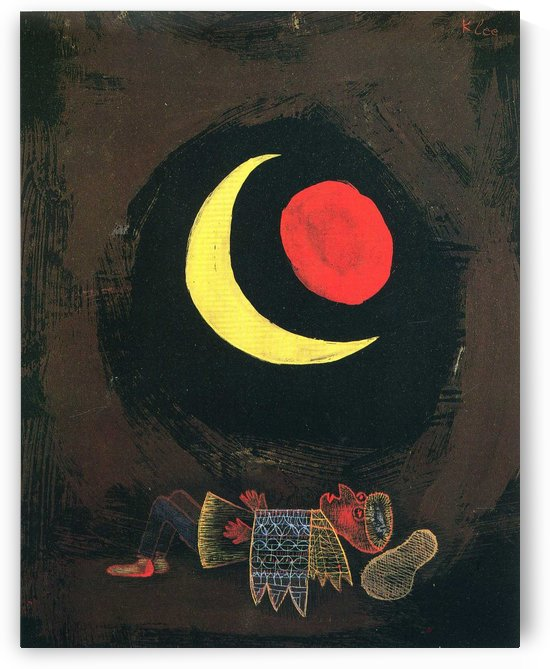Strong Dream by Paul Klee