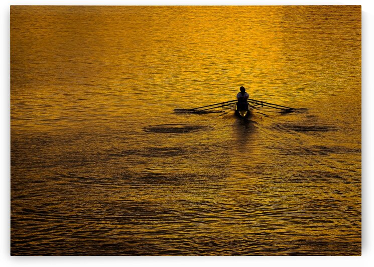 Morning Row by Dave Therrien