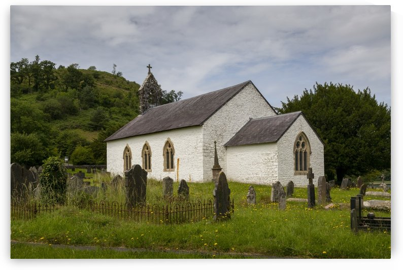 St Michaels church in Talley by Leighton Collins