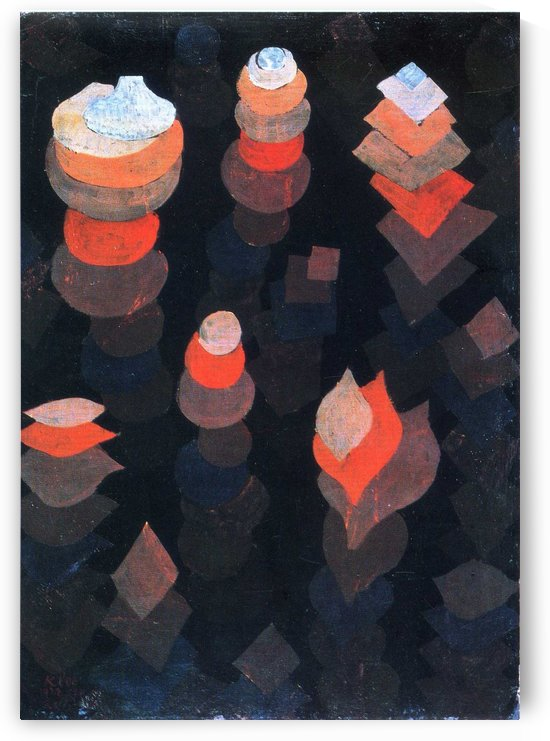 Night plants by Paul Klee