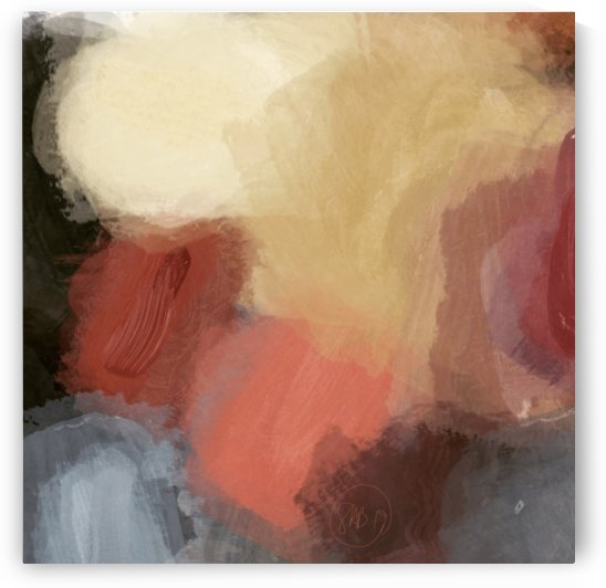Yellow Abstract by Sarah Butcher