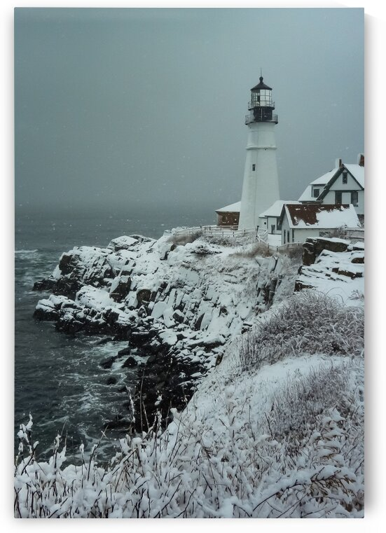 Portland Head Light by Dave Therrien