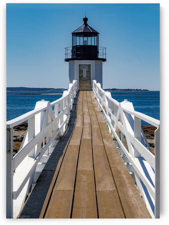 Marshall Point Lighthouse 3 by Dave Therrien