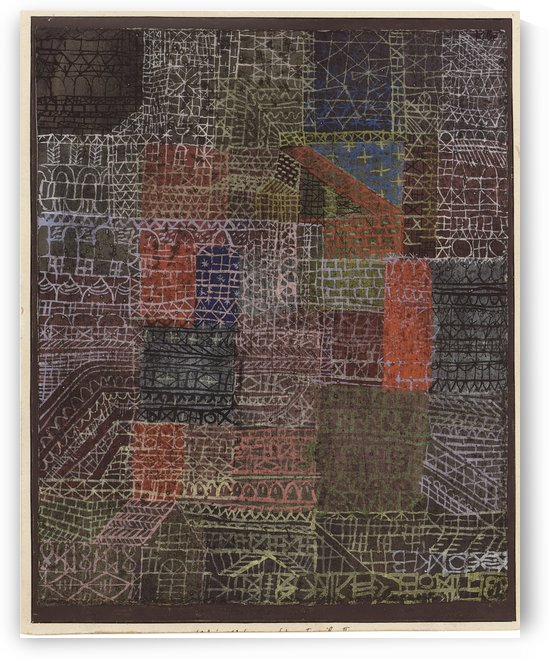 Structural by Paul Klee