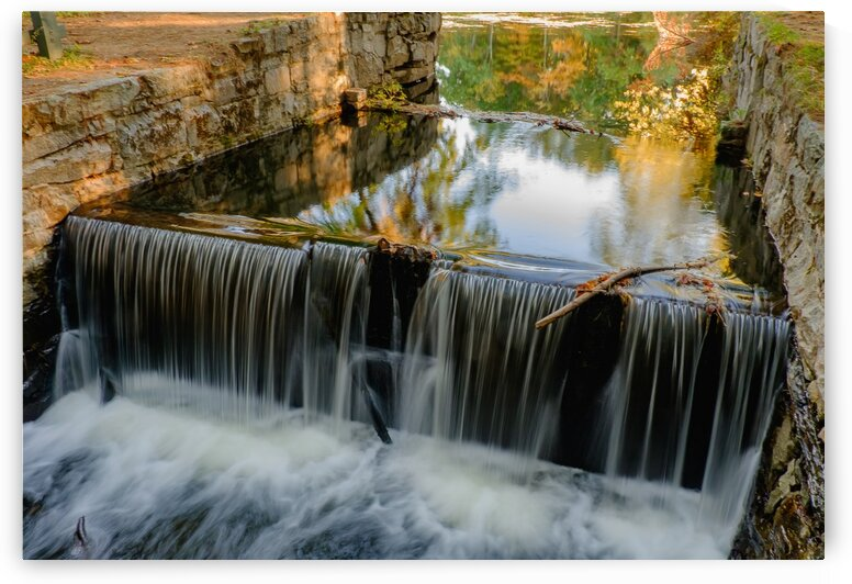 Mine Falls Waterfall by Dave Therrien