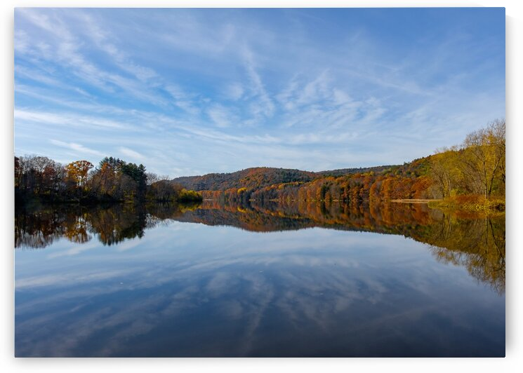Morning on the Connecticut by Dave Therrien