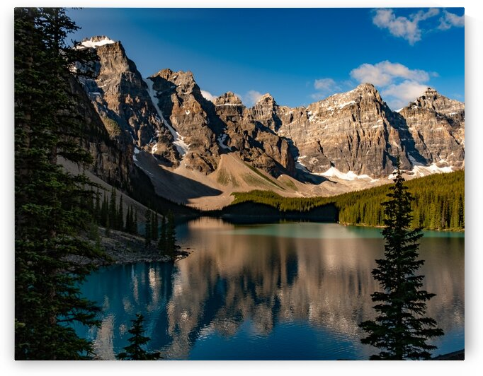 Moraine Lake 25 by Dave Therrien