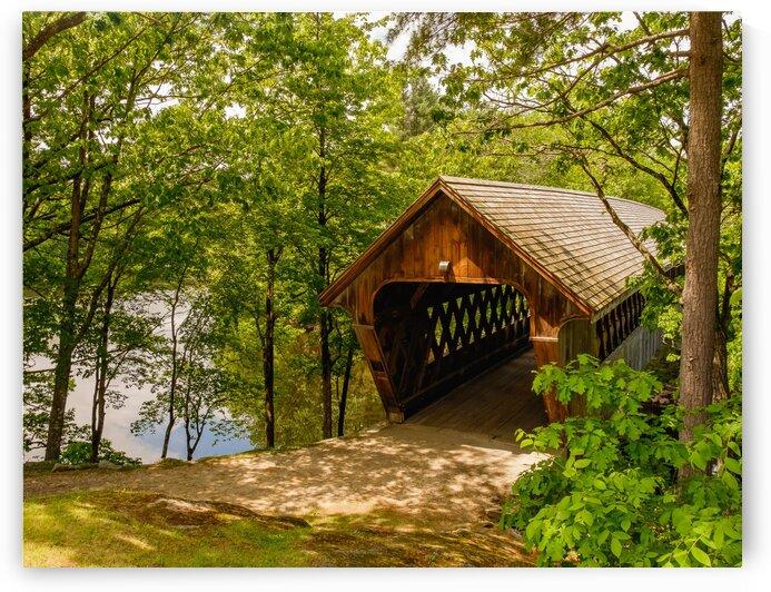 Henniker Covered Bridge by Dave Therrien