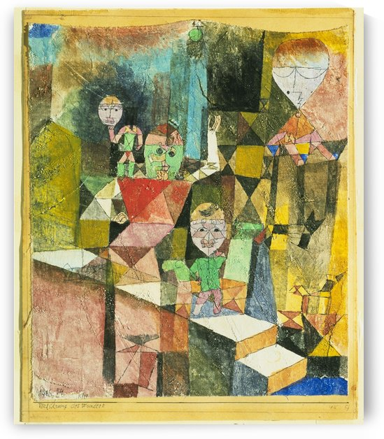 Introducing the miracle by Paul Klee