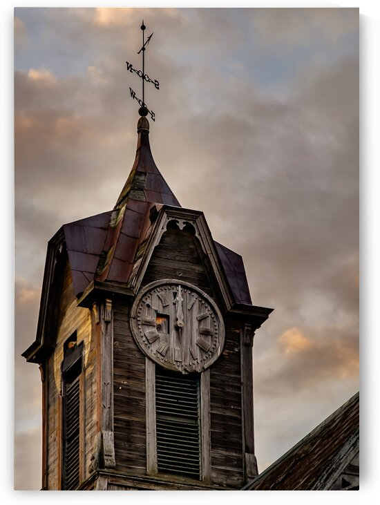 Warner NH Clock Tower by Dave Therrien