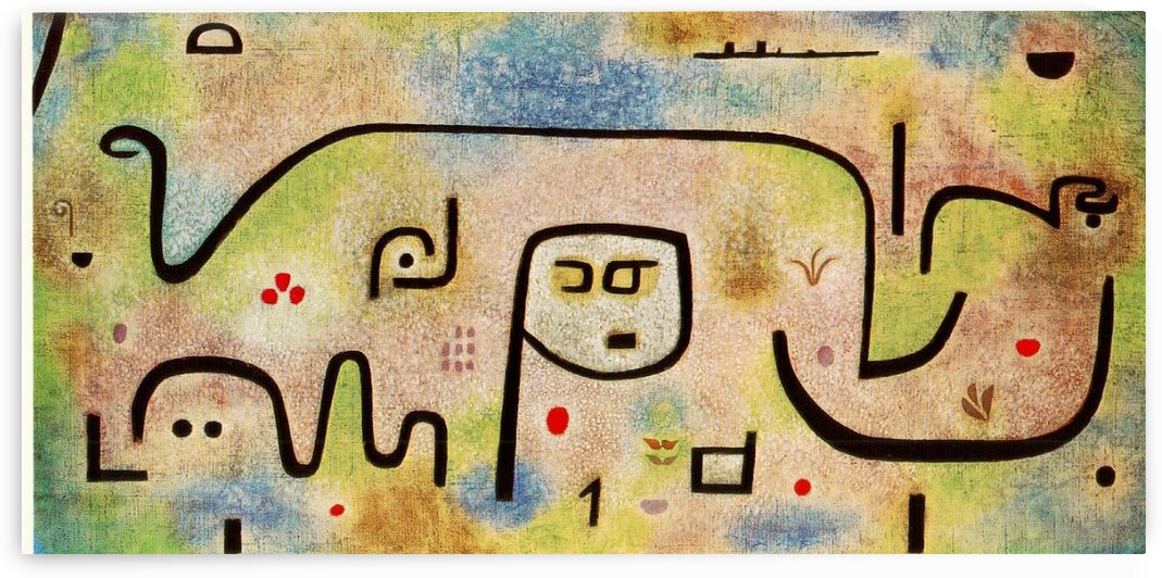 Insula by Paul Klee