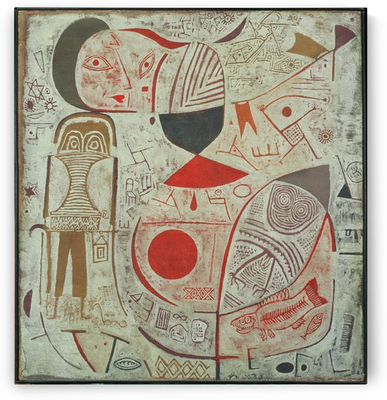 Printed with pictures by Paul Klee