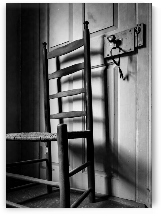 Ladderback and Lock by Dave Therrien