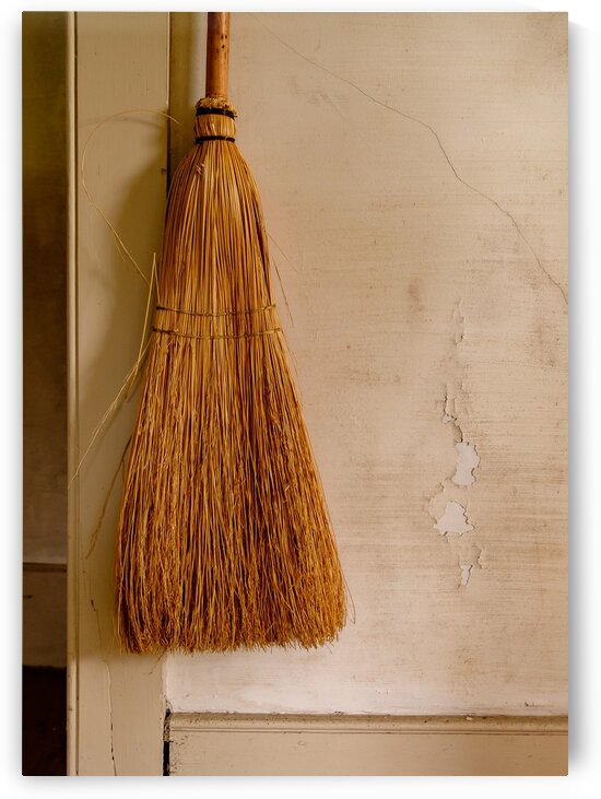 Handy Broom by Dave Therrien