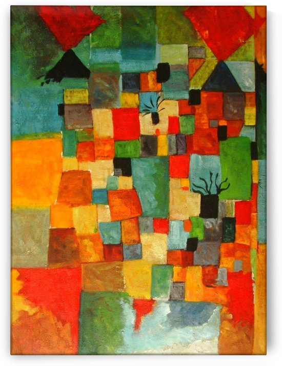 Trees by Paul Klee