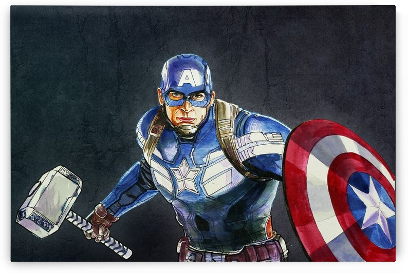 CAPTAIN AMERICA by ASP ARTS