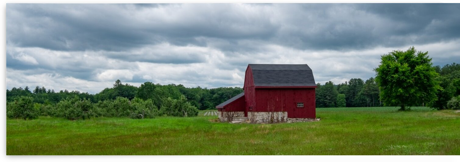 Federal Hill Barn by Dave Therrien
